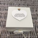 Shabby Personalised Chic Auntie Aunty Great Aunt Gift Trinket Box Jewellery Box - 253191070917